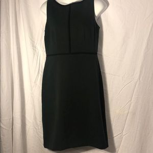 LOFT dark green business dress
